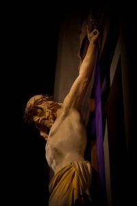 CTK Crucifix during Lent